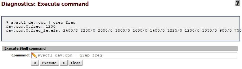 pfSenseでのpowerd効果 | fefcc net